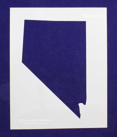 "State of Nevada Stencil 14 Mil 8"" X 10"" Painting /Crafts/ Templates"
