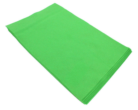 Fiesta Felt- 12x18- 10 Pieces- 100% Acrylic- Pirate Green