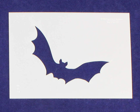 Parent Stencil Halloween Bat