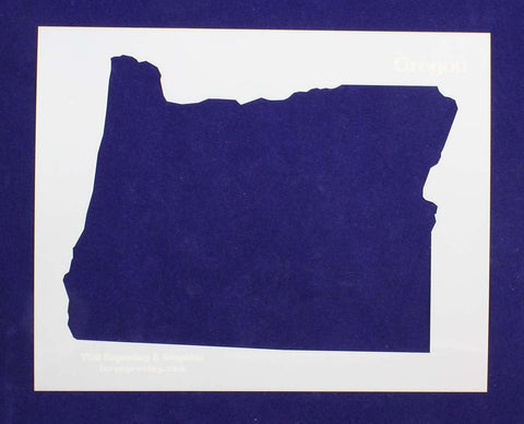"State of Oregon Stencil 14 Mil 8"" X 10"" Painting /Crafts/ Templates"