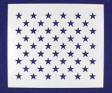"50 Star Field Stencil 14 Mil -14""W x 16""H - Painting /Crafts/ Templates"