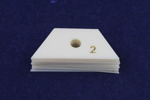 Mylar 2 Inch Half Hexagon 25 Piece Add On Set- No Template