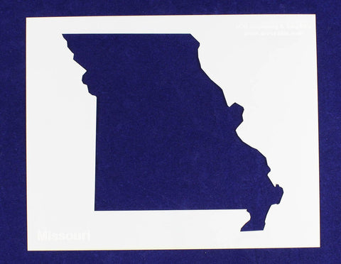"State of Missouri Stencil 14 Mil 8"" X 10"" Painting /Crafts/ Templates"