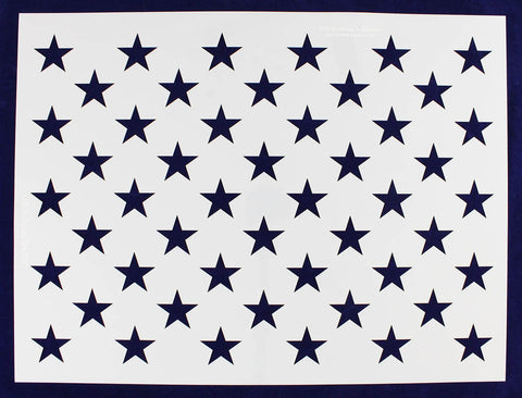 50 Star Field Stencil 14 Mil -G-Spec 24.73 - Painting /Crafts/ Templates