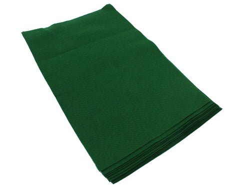 Fiesta Felt- 12x18- 10 Pieces- 100% Acrylic- Christmas Green