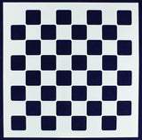 "Chess/Checkerboard Stencil 14 Mil -18"" X 18"" - Painting /Crafts/ Templates"