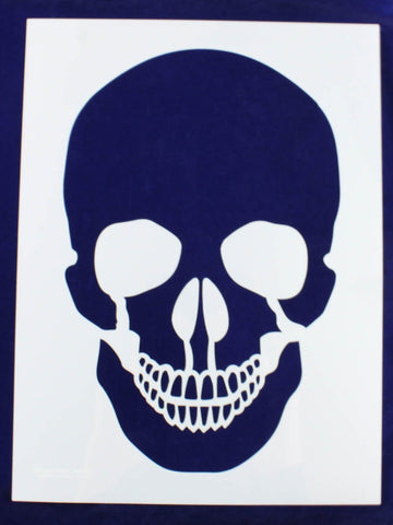 "Extra Large Skull Stencil 14 Mil 18"" X 24"" Painting /Crafts/ Templates"