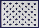 50 Star Field Stencil US American Flag G-Spec 19 Inches