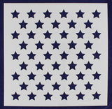 "50 Star Field Stencil 14 Mil -16""H x 16""W - Painting /Crafts/ Template"