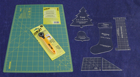 Cutting Mat Gift Set - Quilting-Sewing- 1/8 Inch Thick Clear Acrylic