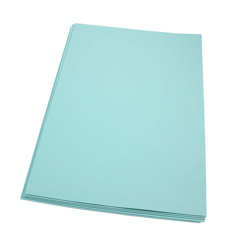 Craft Foam Sheets--12 x 18 Inches - Aqua - 5 Sheets-2 MM Thick