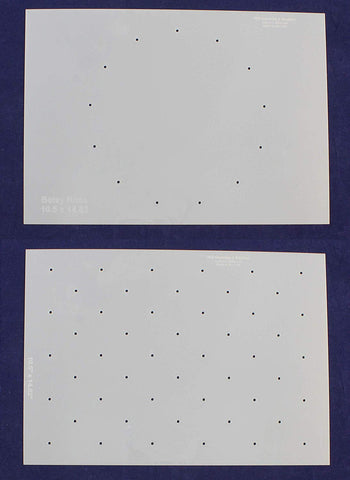 2 Piece Set Dot Field for American Flags G-Spec 10.5 x 14.82 Inches
