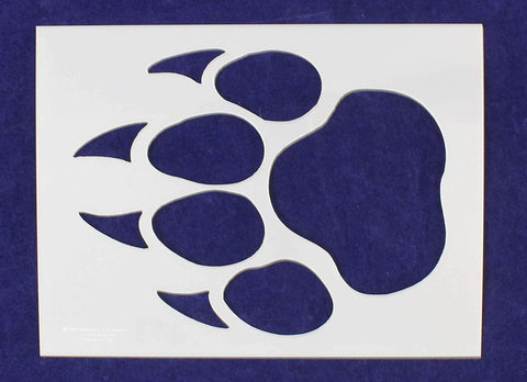 "Panther Print Stencil 14 Mil 18"" X 24"" Painting/Crafts/ Templates"