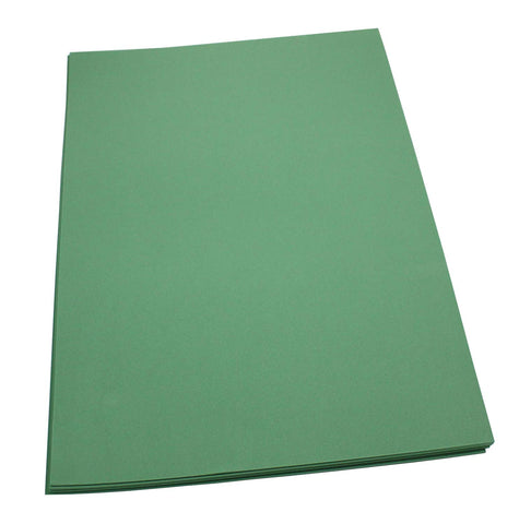 Craft Foam Sheets--12 x 18 Inches - Kelly Green - 5 Sheets-2 MM Thick