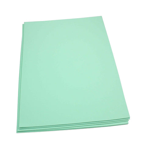 Craft Foam Sheets--12 x 18 Inches - Mint - 5 Sheets-2 MM Thick
