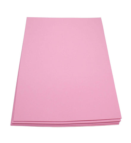 Craft Foam Sheets--12 x 18 Inches - Pink- 5 Sheets-2 MM Thick