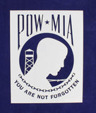 "POW-MIA Flag Stencil 9"" x 11.5"" Painting /Crafts/ Templates"