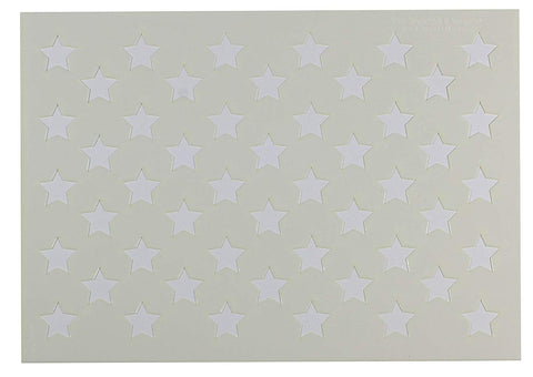 "50 Star Field Stencil 14 Mil -10""H X 14 1/8L"" - Painting /Crafts/ Templates"