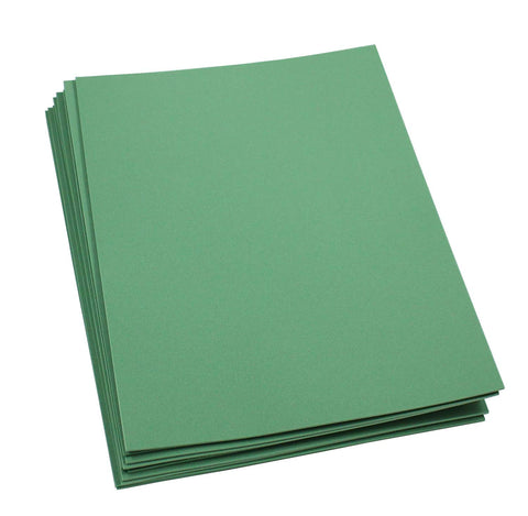 "Craft Foam -9"" x 12"" Sheets-Kelly Green-10 Pack- 2mm thick"