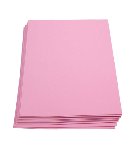 "Craft Foam -9"" x 12"" Sheets-Pink-10 Pack- 2mm thick"