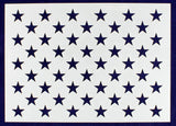 50 Star Field Stencil 14 Mil -G-Spec 15.5 - Painting /Crafts/ Templates