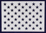 "8"" x 11.29"" G-Spec 50 Star Field Stencil -14 Mil -Painting /Crafts/ Templates"