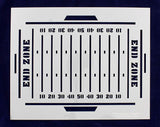 Football Field Stencil-14 Mil Painting/Crafts/ Templates