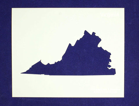 "State of Virginia Stencil 14 Mil 8"" X 10"" Painting /Crafts/ Templates"
