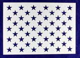 "50 Star Field Stencil-G-Spec14 Mil -16.15""H X 22.80L"" - Painting /Crafts/ Templates"
