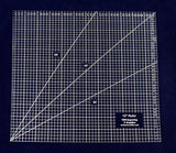 "Square Ruler 12"". - Clear Acrylic - Quilting/Sewing - Template 1/8"""