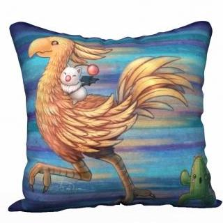 Running Chocobo - Pillowcase