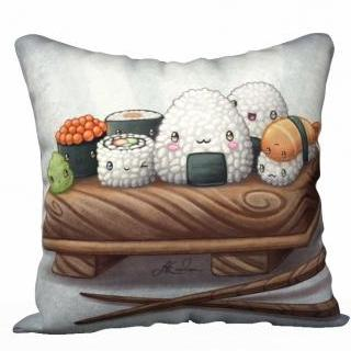 Sushi - Pillowcase