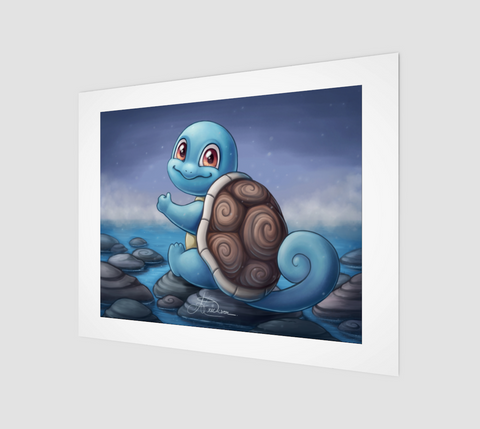 Squirtle - 11x14 Print