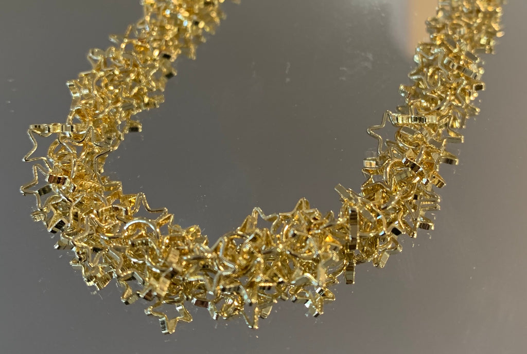 Star Cluster Necklace Gold
