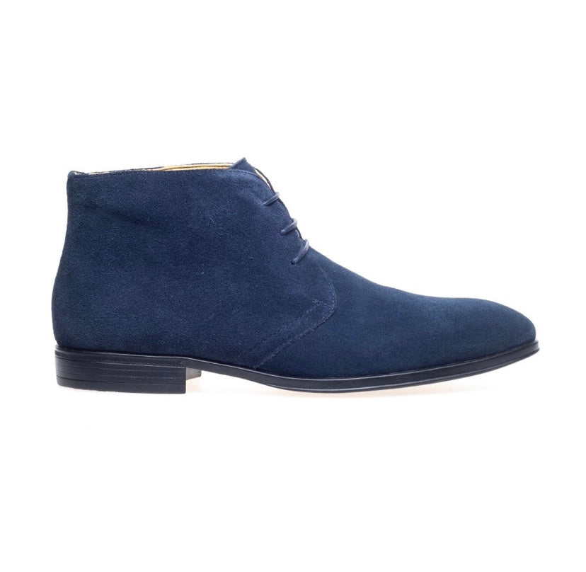 Steptronic Fortune Navy Suede Boots