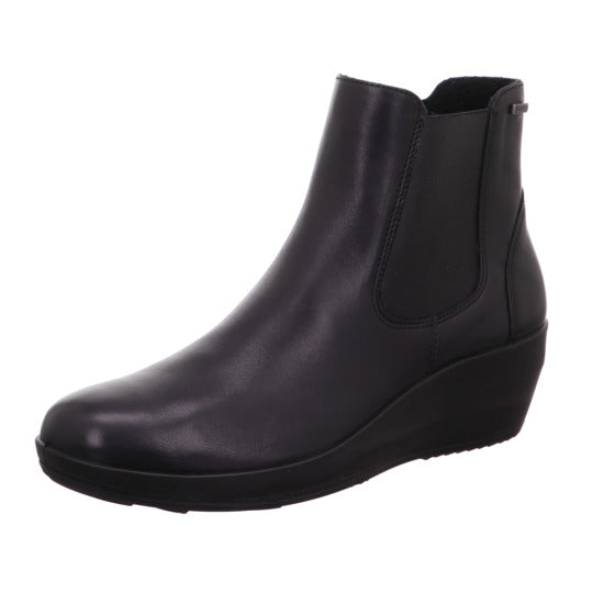 Legero Divine Black Waterproof Leather Boot