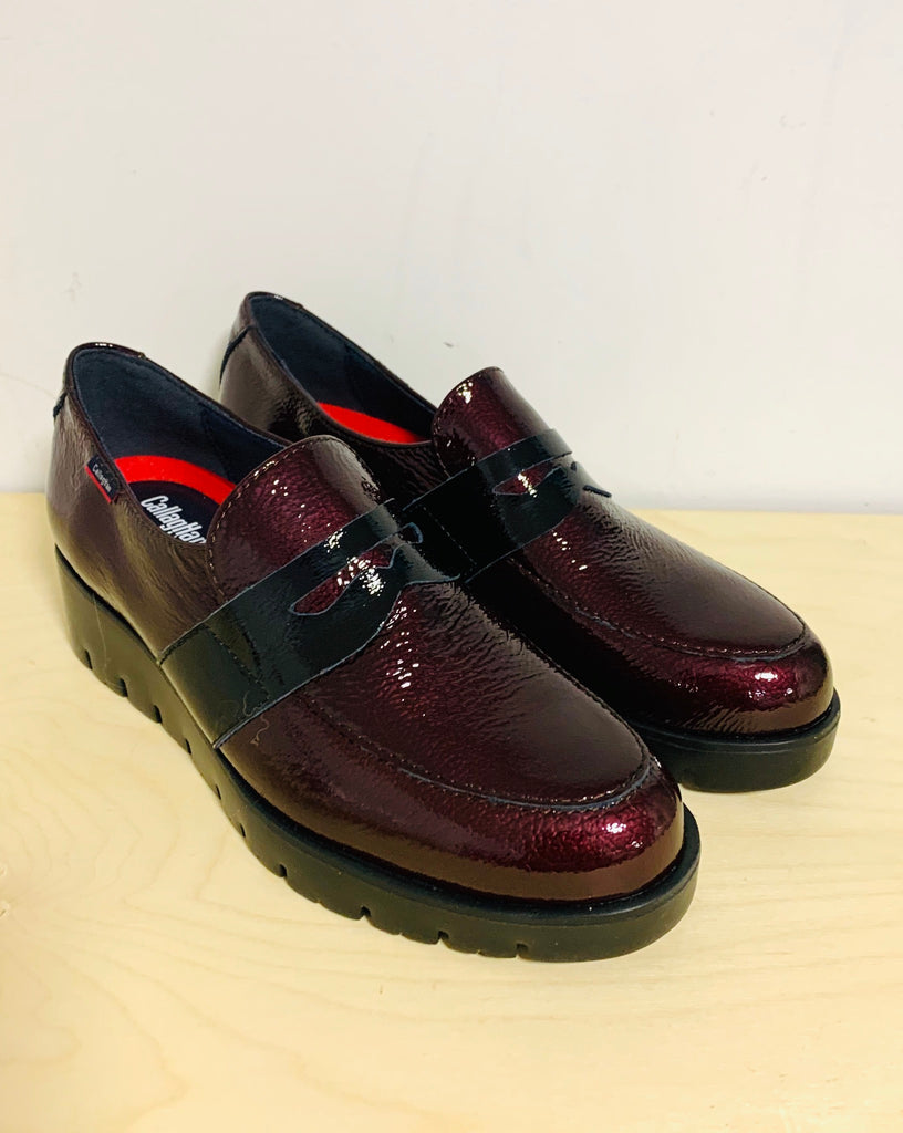 Callaghan Rock Burgundy Patent