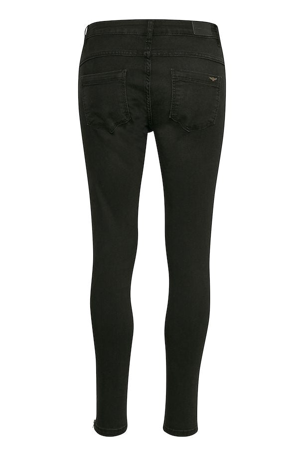 Denim Hunter Celina Zip Black Washed