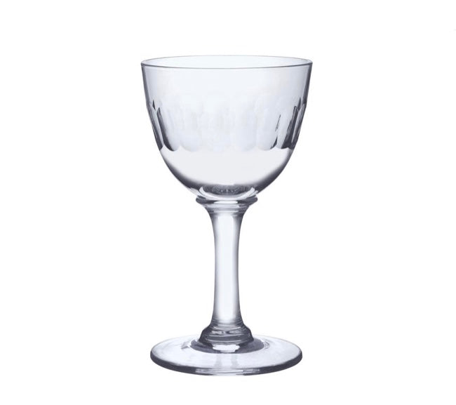 The Vintage List Set of Six Crystal Liqueur Glasses