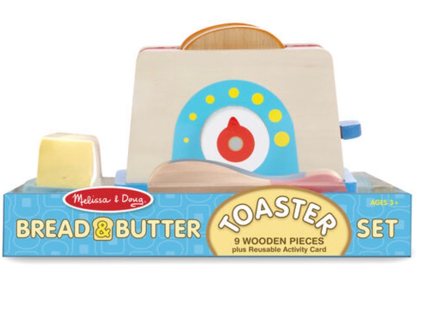 Melissa and Doug Toaster Set