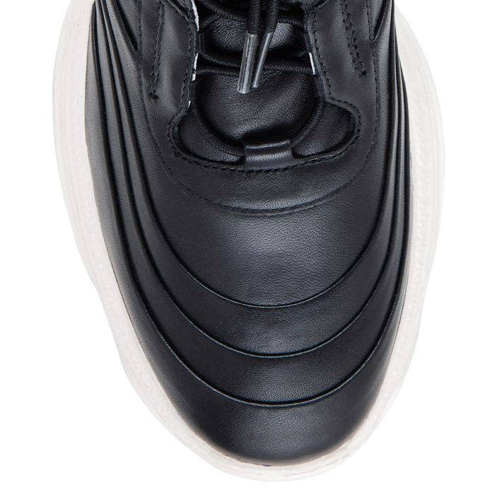 Hogl Visionary Black Leather Trainers