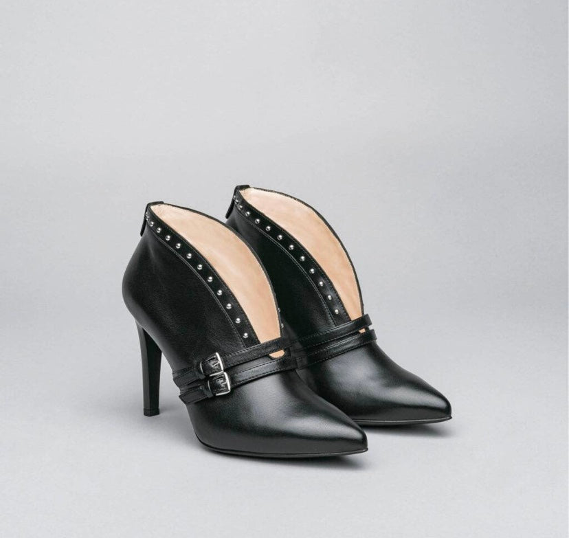 NeroGiardini Napa Pandora Nero Ankle Boot *TO PRE-ORDER IF YOUR SIZE IS SOLD OUT E-MAIL US VIA OUR WEBSITE *