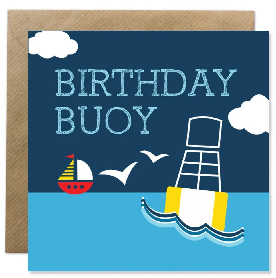 Bold Bunny Birthday Buoy
