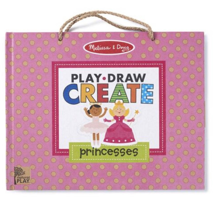 Melissa and Doug  Draw Play and Create Magnet Set