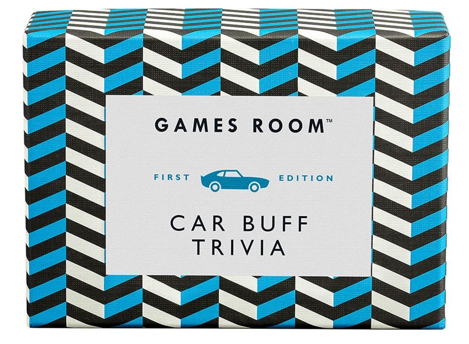 Ridley's Games Room Car Buff Trivia Cards