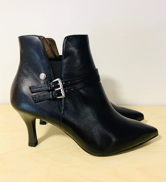 NeroGiardini Nappa Pandora Nero High Heel Ankle Boots *TO PRE-ORDER IF YOUR SIZE IS SOLD OUT E-MAIL US VIA OUR WEBSITE *
