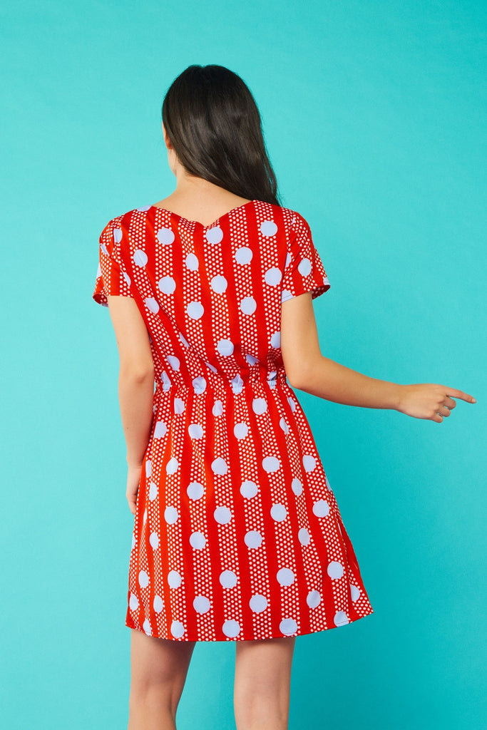 MN Anita Dress Red