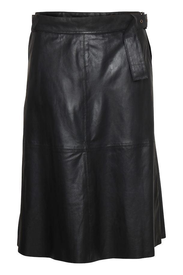 CU Alina Leather Skirt