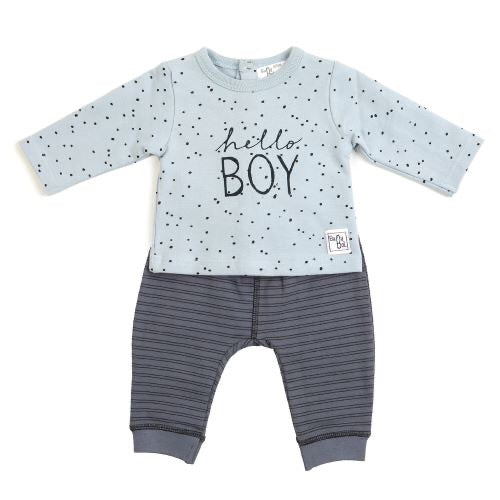 BabyBol boys Blue two piece
