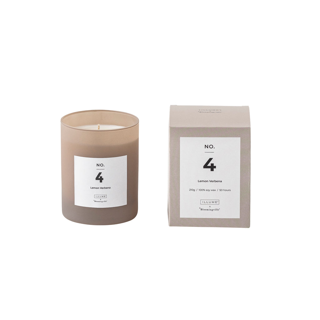 Bloomingville No. 4 - Lemon Verbena Scented Candle
